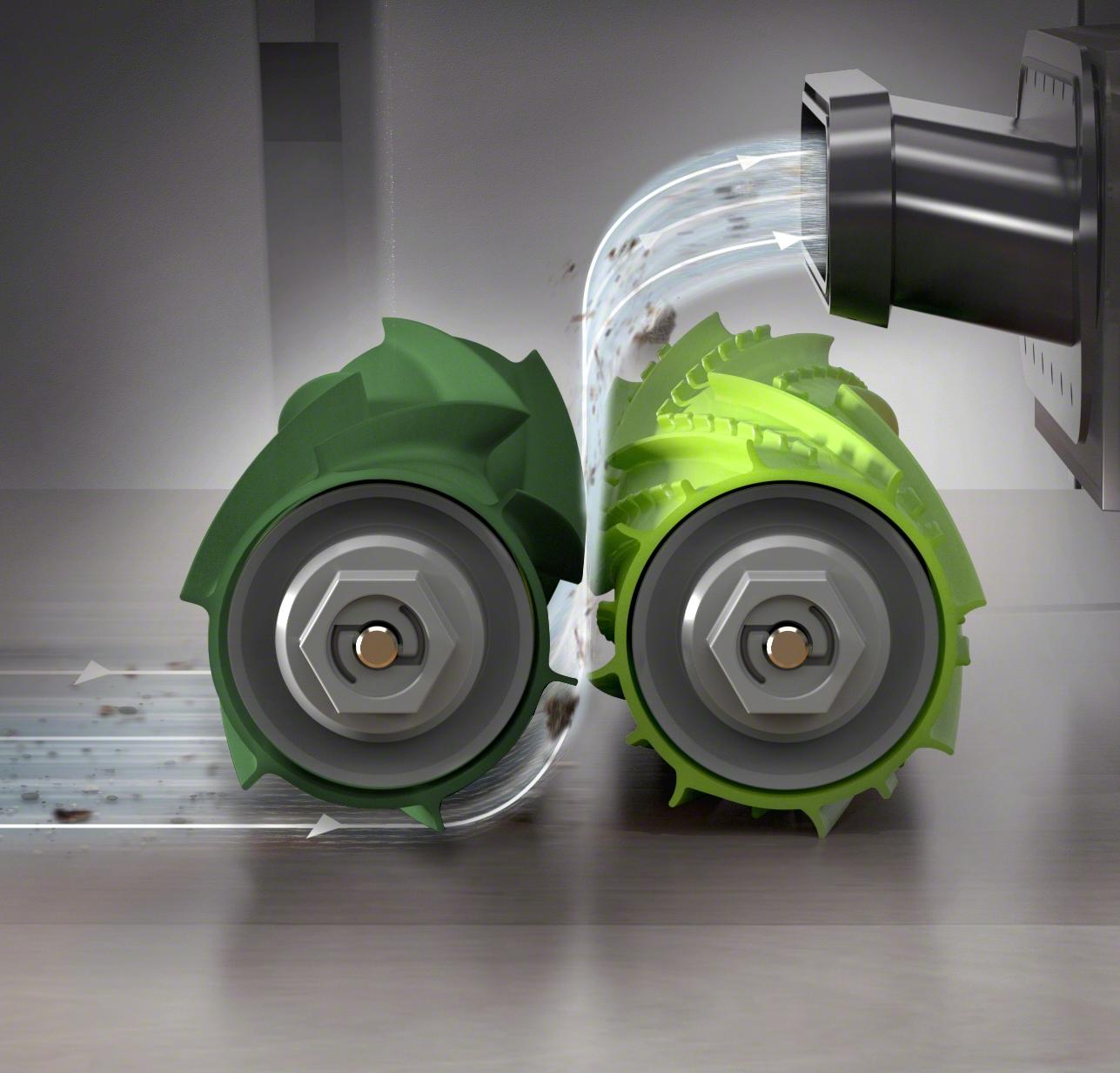 3stupňový čisticí systém iRobot