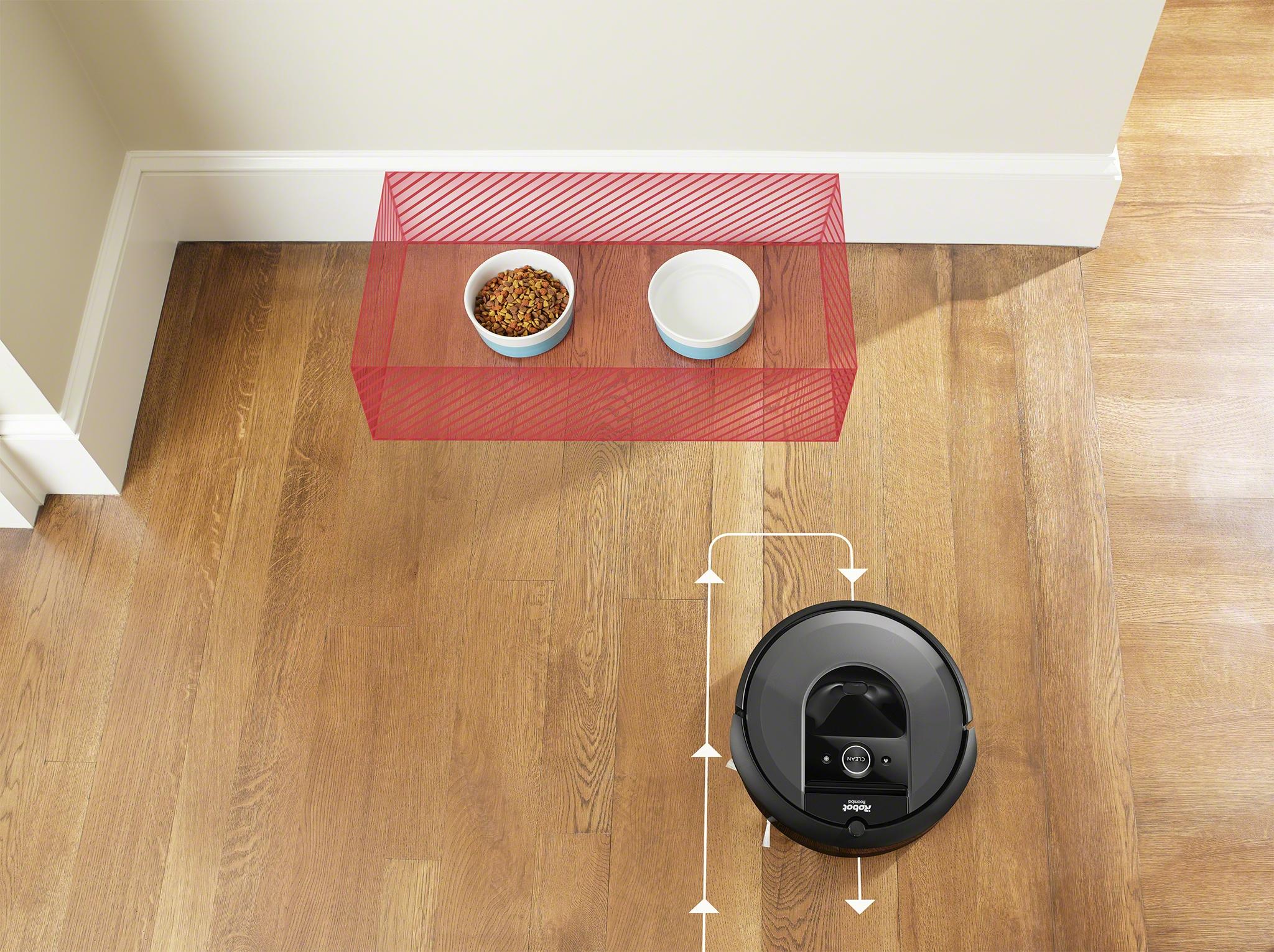 Robotický vysavač Roomba i7 zakázaná zóna