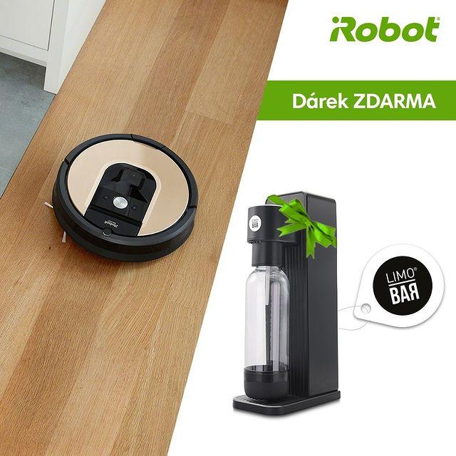 LETNÍ AKCE: Výrobník sody jako dárek k vybraným modelům Roomba. Užívejte si 🥤🍹, zatímco iRobot uklízí 🧹