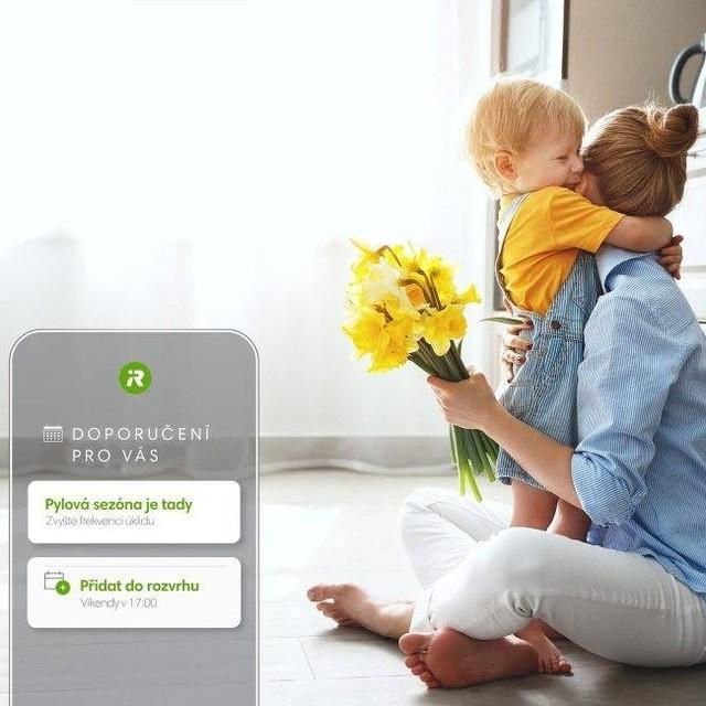 Aplikace iRobot HOME doznala velkých změn.🌼 Sama dává doporučení a roboty lze posílat na konkrétní místa. Ve Smart Home stačí říct: