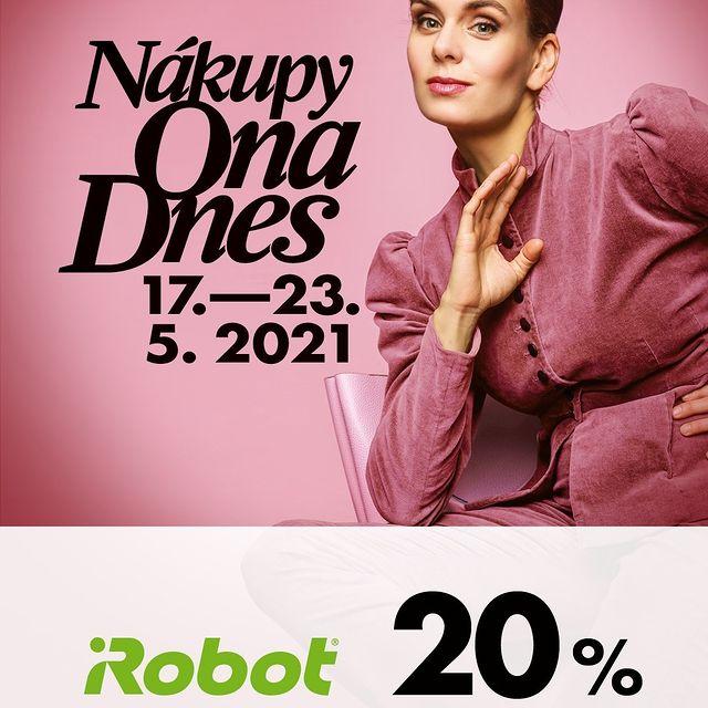 Od 17. - 23. 5. můžete mít robotický vysavač Roomba 976 s 20 % slevou! 📉 A to přímo od iRobot.cz, takže se všemi výhodami jako je např. 6️⃣0️⃣ dní na vyzkoušení. #iRobot #irobotlove #nakupyonadnes