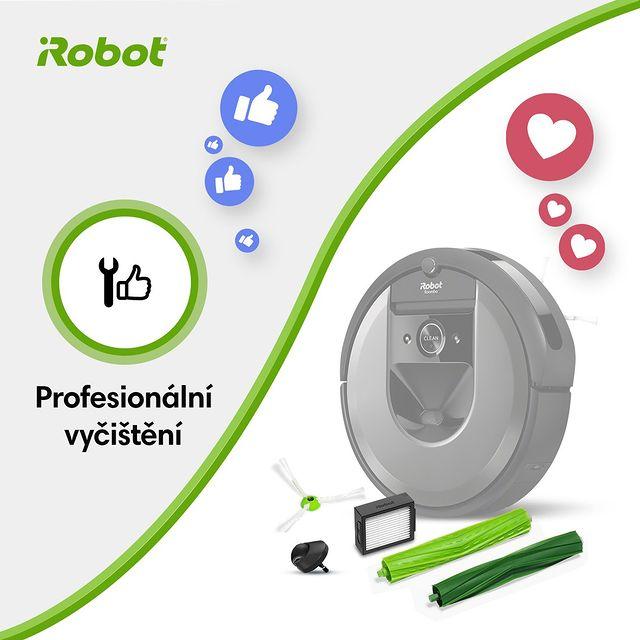 Soutěž pro fanoušky iRobot! Hlasujte v komentářích 👍 pro profesionální vyčištění X ❤️ pro příslušenství ;-)